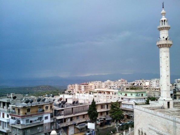 مدينة سلقين السورية