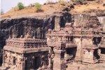 معبد هندي في كهوف إلورا 12 Ellora Caves