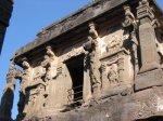 معبد هندي في كهوف إلورا 3 Ellora Caves