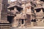 معبد هندي في كهوف إلورا 1 Ellora Caves