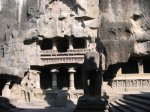 معبد هندي في كهوف إلورا4 Ellora Caves