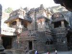معبد هندي في كهوف إلورا 8 Ellora Caves