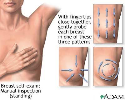مشاكل الثدي عند المرأة و العلاج