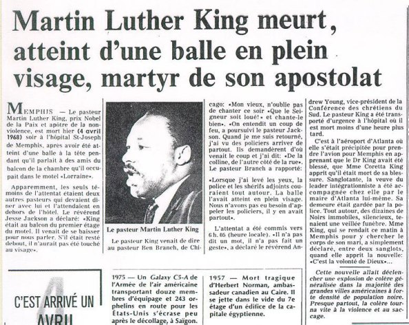 مارتن لوثر كينغ عندي حلم